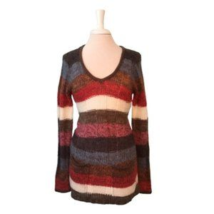 Ashley by 26 International Multi Stripe Sweater